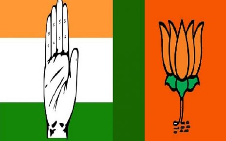 congress bjp logo