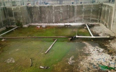 filthy water to ews housing in vatva
