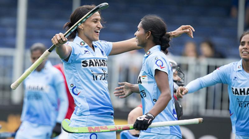 indian women's hockey in asia cup