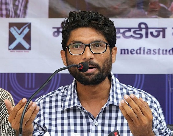 jignesh Mewani file nomination for election 2017