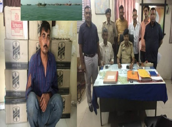 kutch bsf arrested pakistani intruders with boats