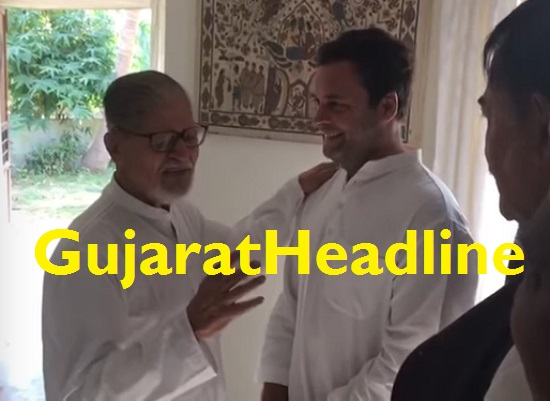 madhavsinh solanki personal talk with rahul gandhi and old memories