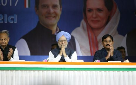 Manmohan Singh on demonetisation at gpcc Ahmedabad