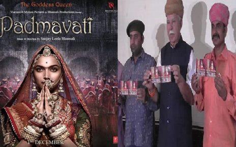Padmavati film protest by Rajput community