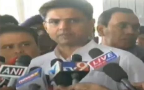 Sachin Pilot says BJP feared in Gujarat