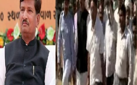 shamji chauhan resign from chotila over no ticket