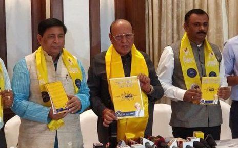 shankersinh vaghela declares janvkalp manifesto