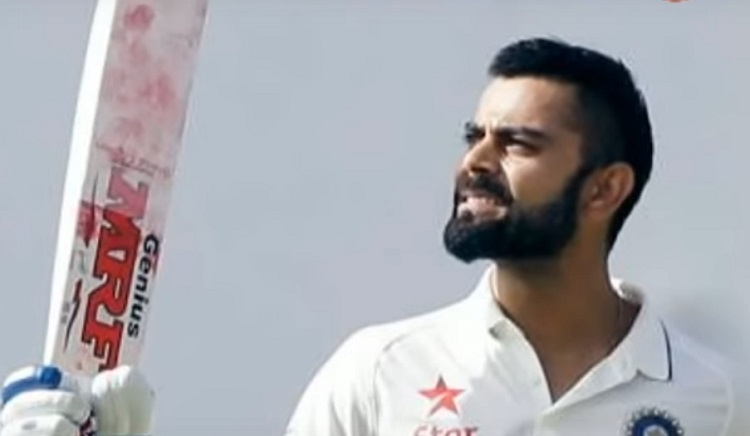 virat kohli 5th double century in nagpur test