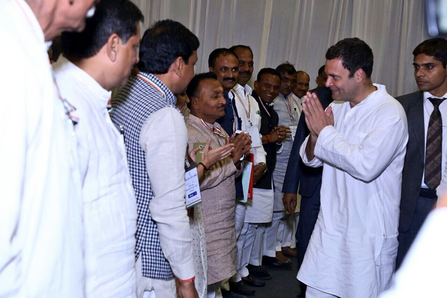 ahmedebad interaction with partymen by rahul