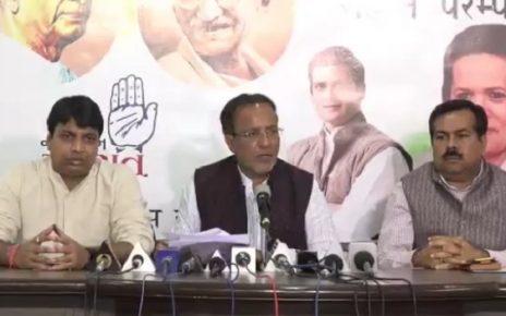 arjun modhwadia blame bjp for violation of code of conduct