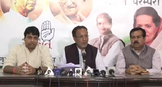 arjun modhwadia blame bjp for violation of code of conduct