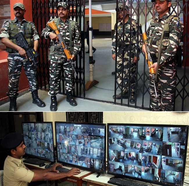 evm machines in strong rooms