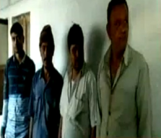 keshod junagadh 4 arrested with imported liquor