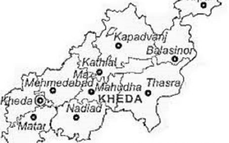 kheda map