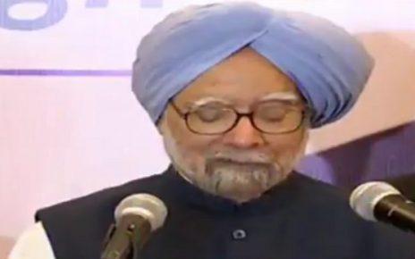 manmohan singh says false blame by Modiji