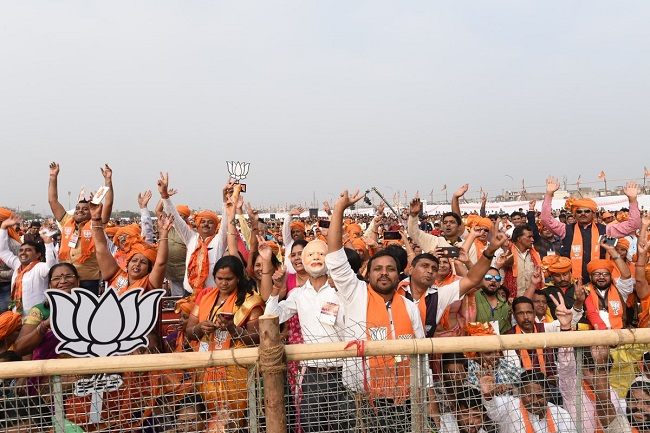 modi crowd in limbayat surat