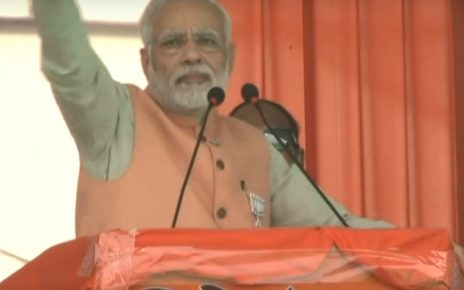 narendra modi address in limbayat surat