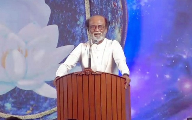 rajini enters politics