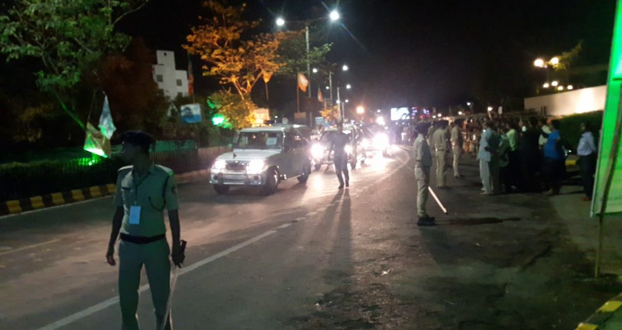 road show in ahmedabad denied
