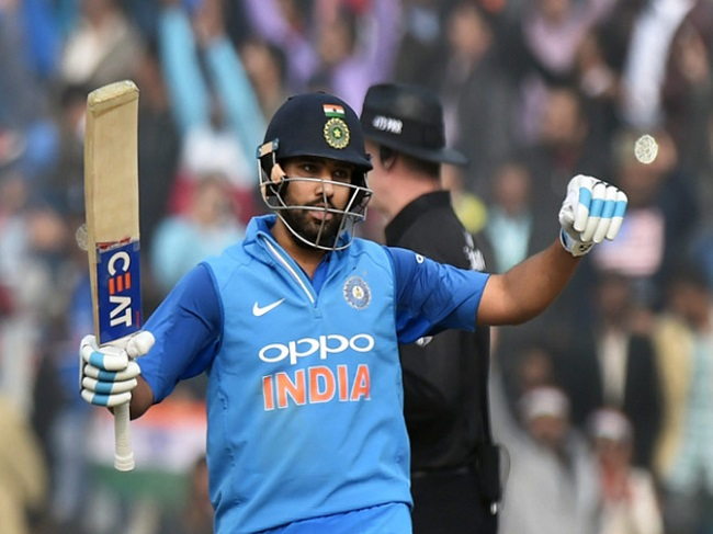 Rohit sharma third double century