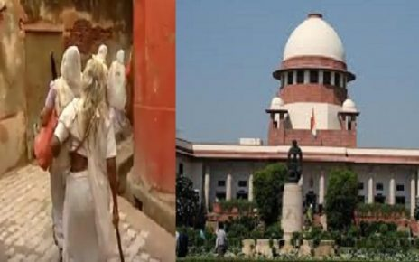 supreme court displeased over rehabilitation of widows