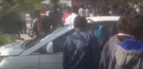 2 kids killed by car in himmatnagar