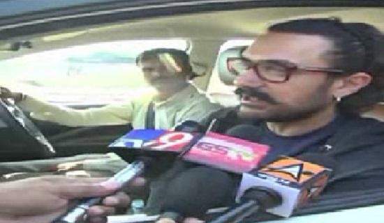 aamir khan visited palanpur