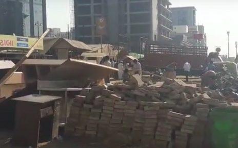 ahmedabad amc demolition against illegal structures