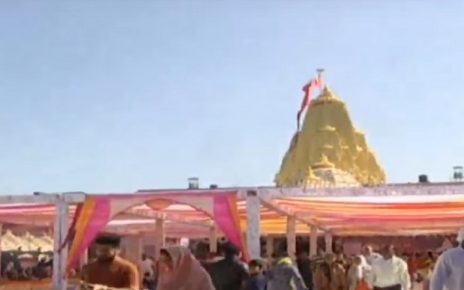 ambaji full of devotees due to poshi poonam