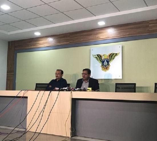 crime branch press conference on pravin togadia