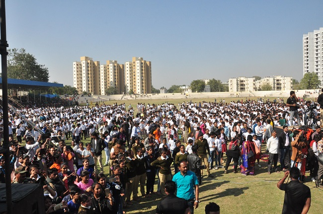 dance record attempt in ahmedabad
