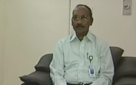 dr k sivan as new chairman isro