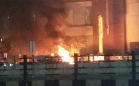 fire at pvr cinema against padmavaat film