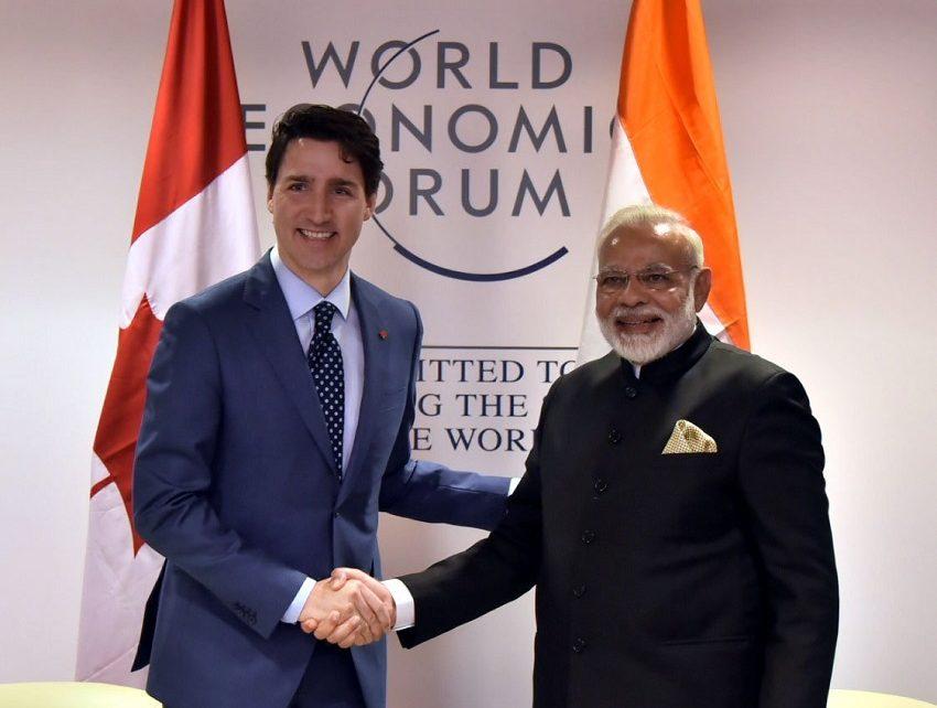narendra modi meets justin trudeau