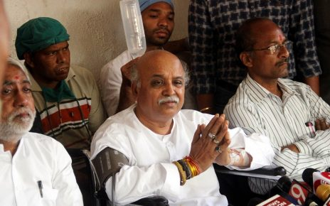 pravin togadia says attempts made to silence my voice