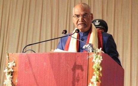 president attends 66th convocation of gujarat university