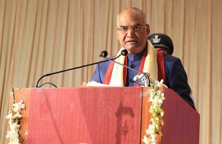 president attends 66th convocation of gujarat university
