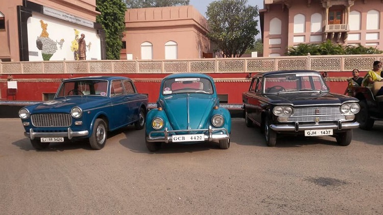 vintage car show in ahmedabad