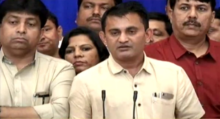 congress to bring no confidence motion against assembly speaker