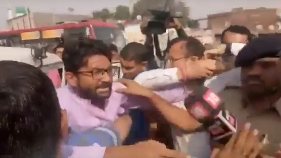 jignesh mevani detained by police at saraspur in ahmedabad