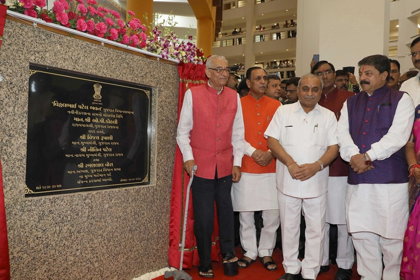 new gujarat assembly building opening