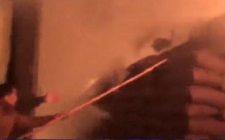 rajkot fire in groundnut godown