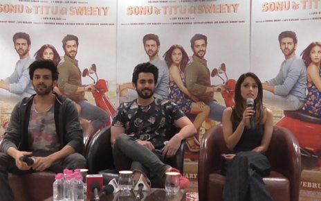 sonu ke titu ki sweety movie promotion in ahmedabad