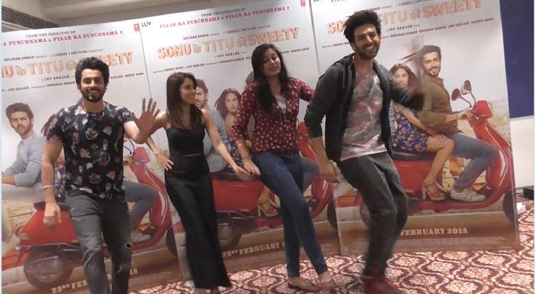 sonu ke titu ki sweety movie promotion with dance steps