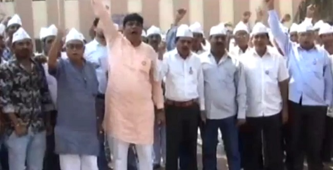 surat farmers protest against irrigation water in ukai