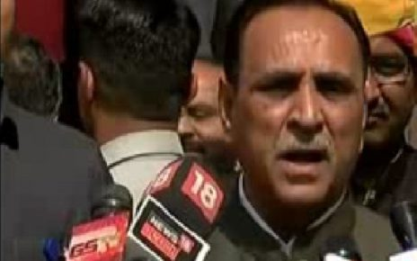 vijay rupani talks on one election in India
