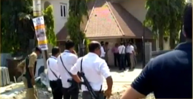 crime branch investigate at a rented house in bharuch