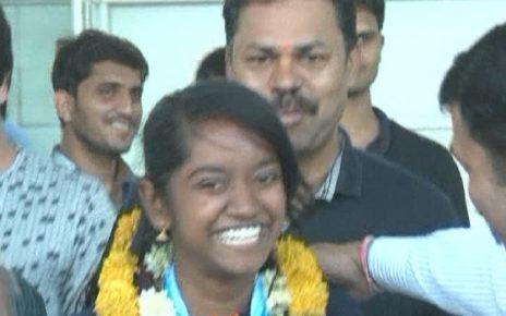 elavenil valarivan returns to ahmedabad with gold at issf junior world cup australia
