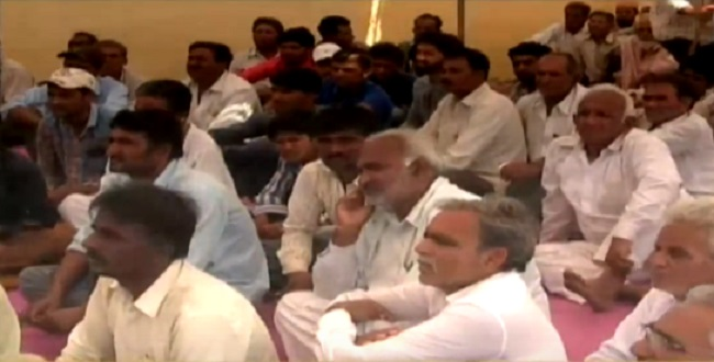 gir somnath farmers protest for water