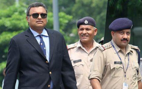 Karti Chidambaram in CBI custody